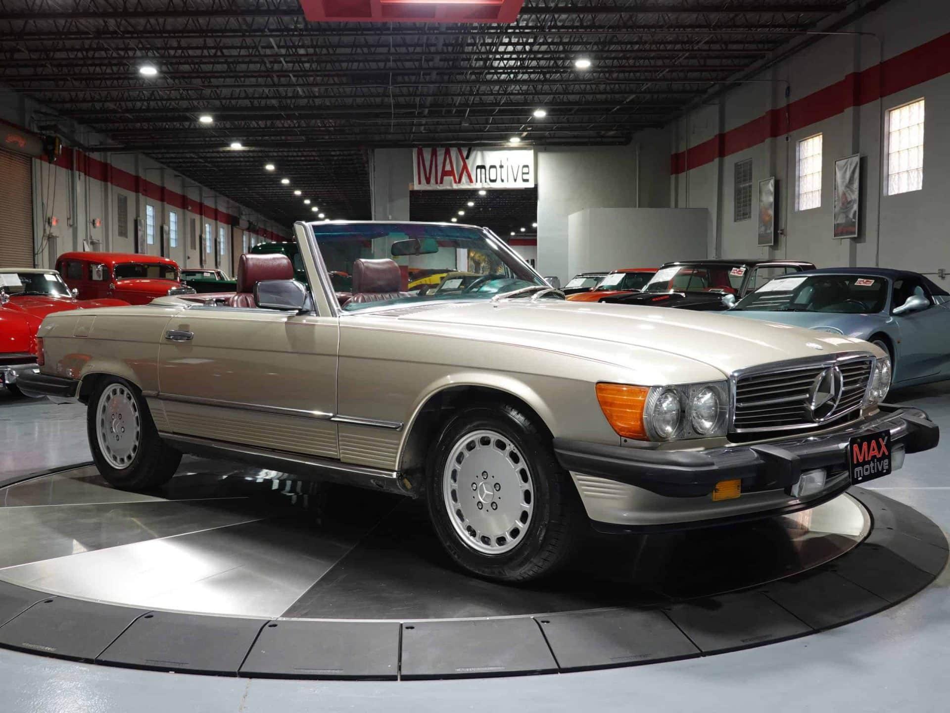1986 Mercedes Benz 560SL Convertible - F0840