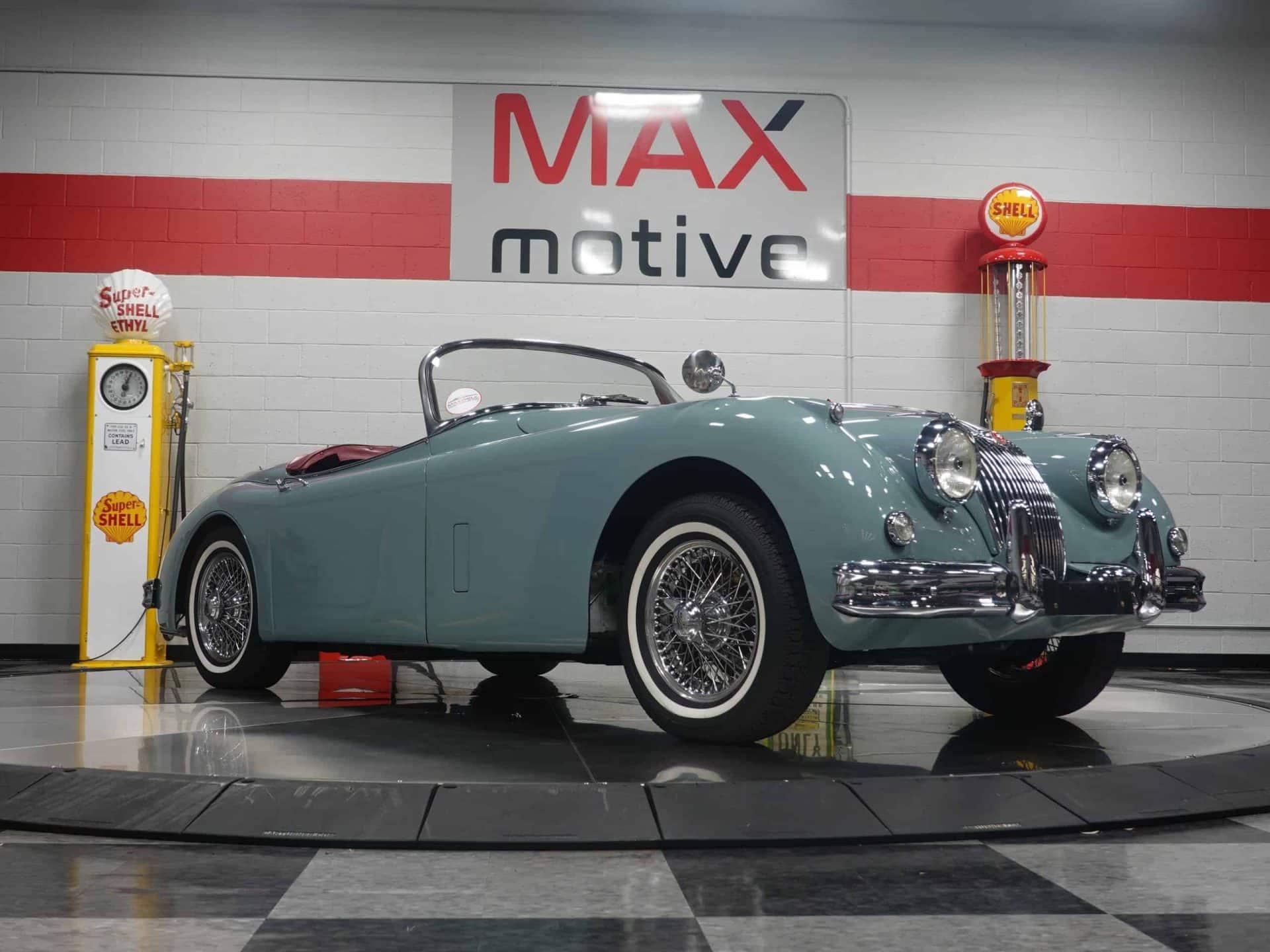 1958 Jaguar XK150 Roadster - F0649
