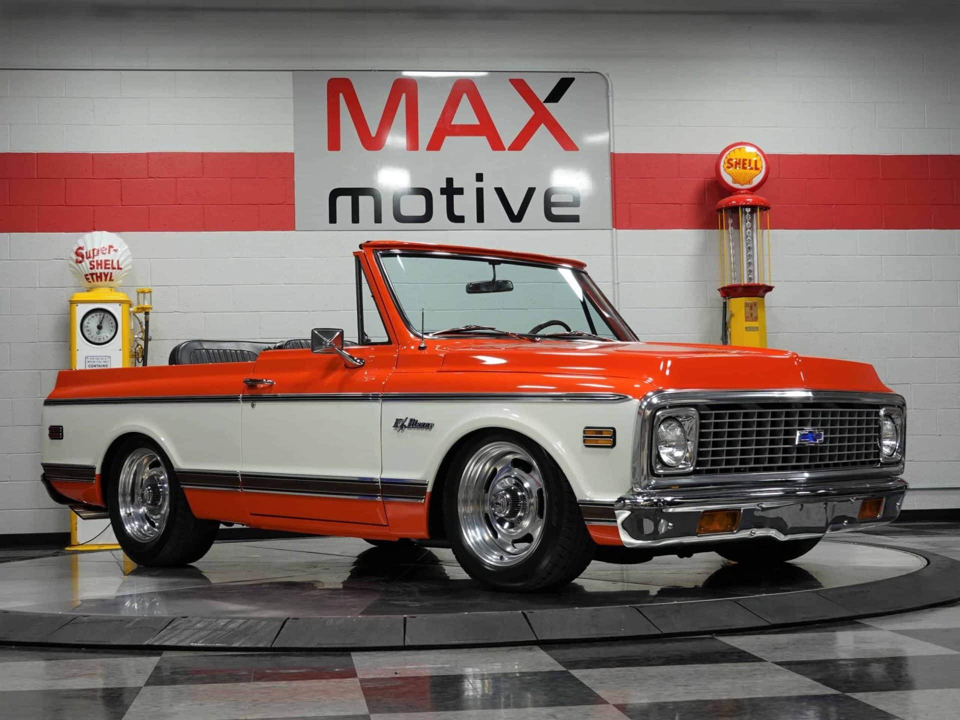 1971 Chevrolet K5 Blazer - CU0773