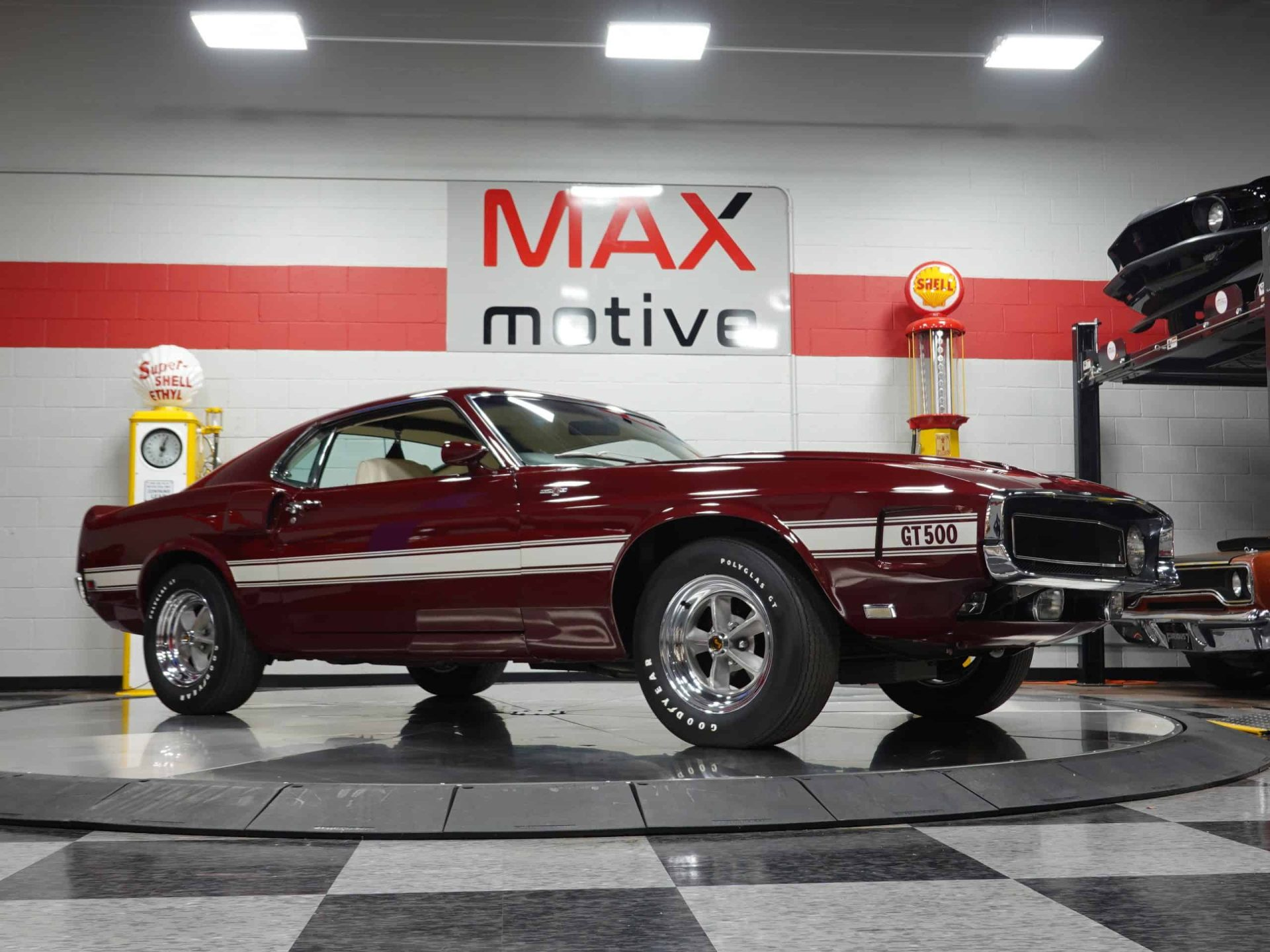 1969 Ford Shelby Mustang GT500 - U0373