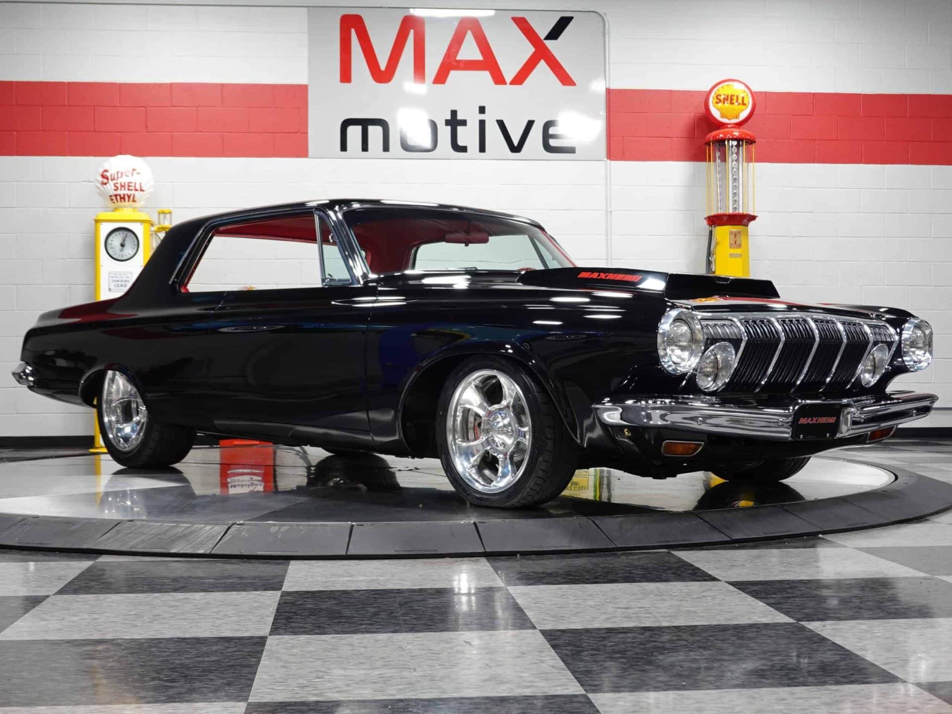 1963 Dodge Polara Max Hemi - F0538