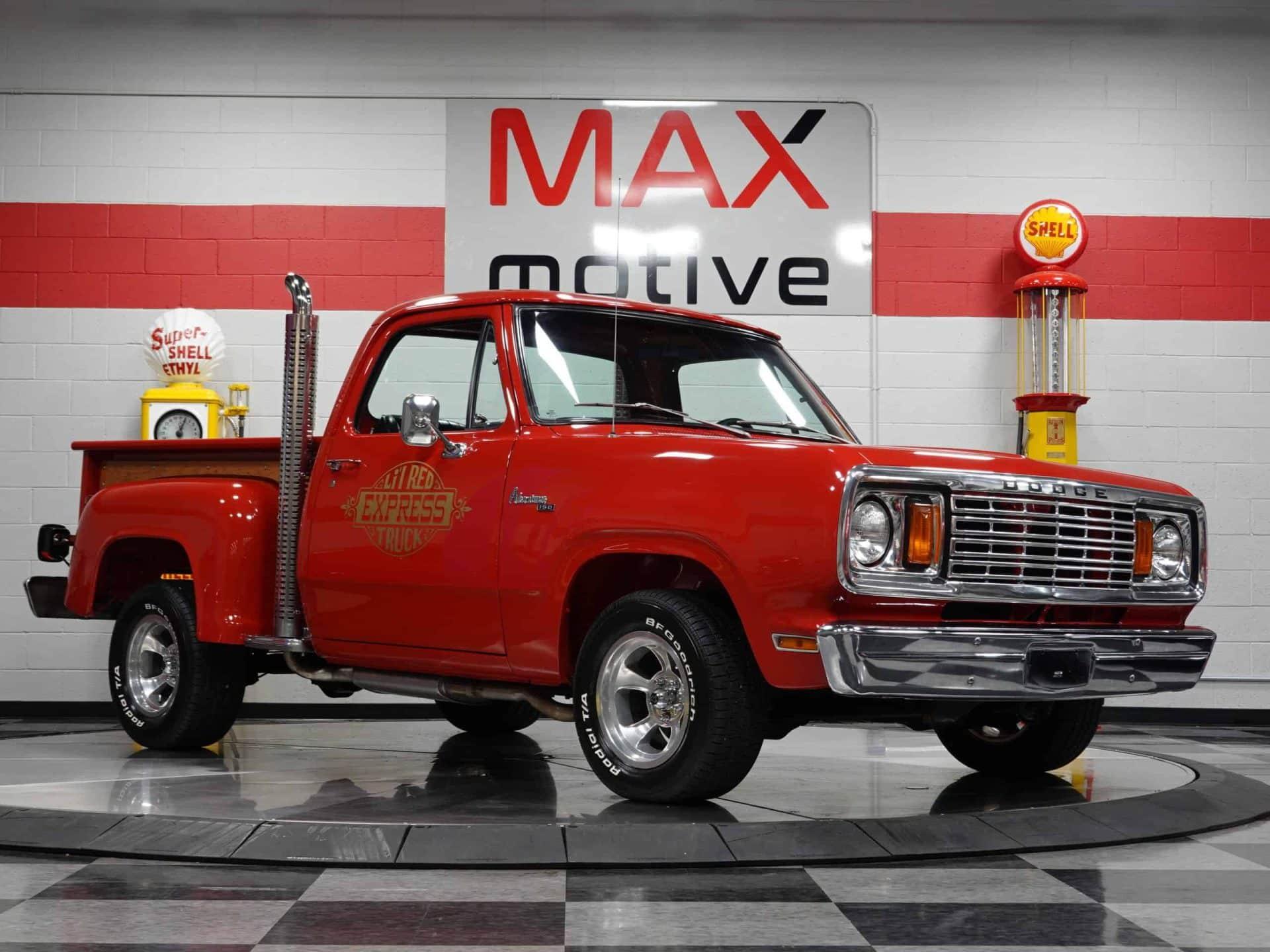 1978 Dodge Lil' Red Express D13 - U0848