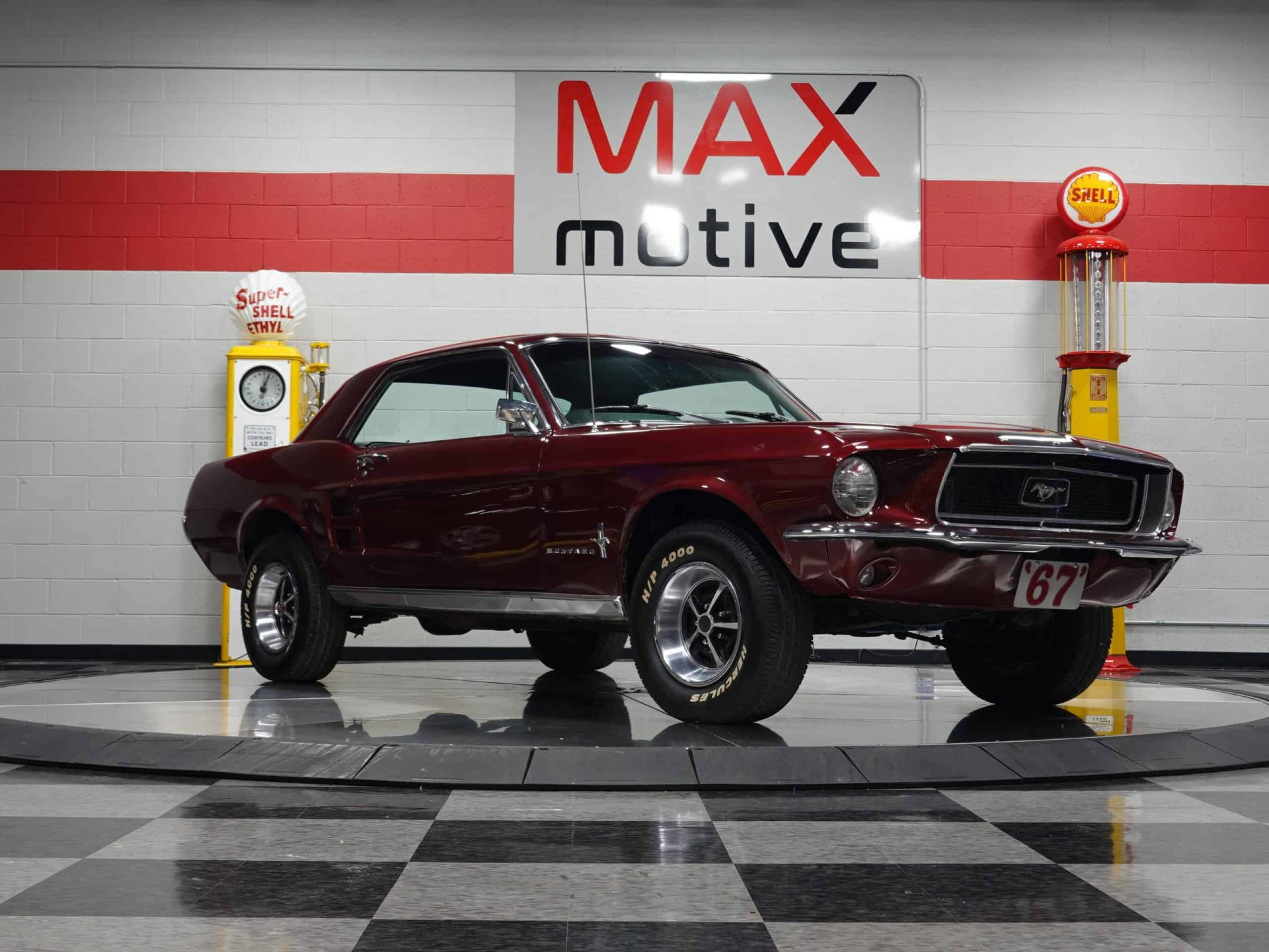 1967 Ford Mustang 2-Door Coupe - V0728